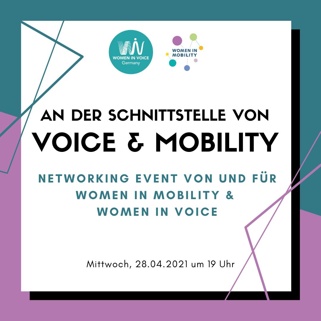 """WiV DE Event """"An der Schnittstelle von Voice und Mobility"""""""