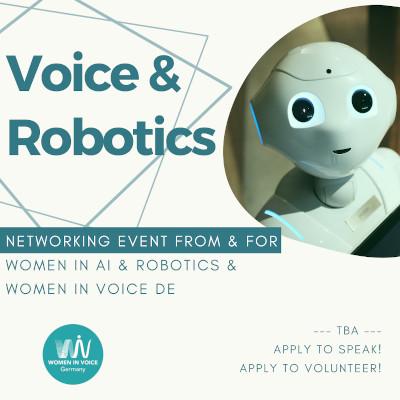 WiV DE Event: Voice & Robotics